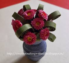 3d Flower Vase Being Creative In The World Of Paper Crafting 3d Quilled