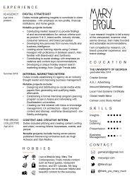 resume in pdf resume u2013 mary ergul