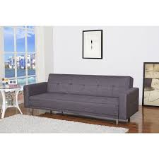 Overstock Sofa Bed Cleveland Gray Convertible Sofa Bed Free Shipping Today