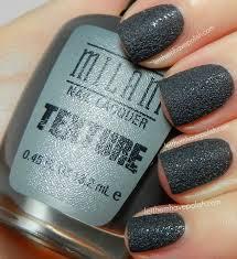 let them have polish milani textured nail polish in shady gray