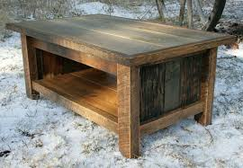 Rustic Metal And Wood Coffee Table Square Reclaimed Wood Coffee Table Country Roads And Metal Yonder