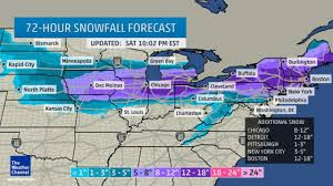 Iowa Road Conditions Map Winter Storm Linus Driving Conditions Decline Across Midwest