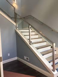 Glass Stair Handrail Glass Stair Railing U2013 Bighorn Glass U0026 Window 775 882 5060 U2013 Glass