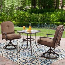 conversation chair garden treasures glenlee brown steel patio