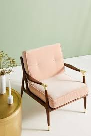 Pink Armchair Chairs Velvet Chairs Leather Chairs U0026 More Anthropologie