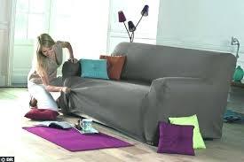 recouvrir canape housse pour canape en cuir housses fauteuil et canapac bi