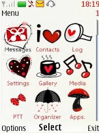 themes java nokia 2700 free nokia 2700 i love u theme app download