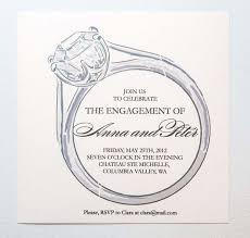 wedding announcement template engagement party invitation templates blueklip