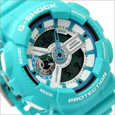 light blue g shock watch buy casio g shock breezy colors world time limited watch ga 110sn 3a