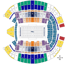 Map Seattle University by Seating Map Seattle Seahawks