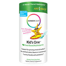 rainbow light kids one kids one multistars natural fruity cherry flavor 90 chewable
