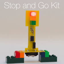 stop and go light stop and go kit lunchbox electronics