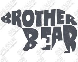 eps format vs jpeg brother bear custom diy iron on vinyl shirt decal cutting file in