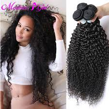 cheap human hair extensions 7a unprocessed hair hair 4 bundles curly