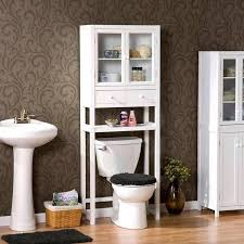 Bathroom Cabinets Ideas Storage Bathroom Cabinets Ideas White Wall Paint Frosted Glass Door Benevola
