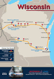 Wisconsin Travel Pass images Jefferson lines bus stops in wisconsin jpg