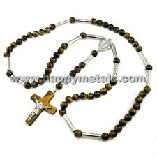 catholic rosary necklace stainless steel catholic rosary necklace n5703 buy catholic