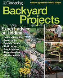 Easy Backyard Projects Backyard Projects For The Gardener Fine Gardening