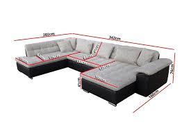 promo canapé d angle canapé d angle convertible en u alta ii design