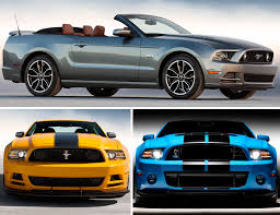 2013 mustang models 2013 ford mustang features projection l