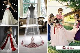 Red And White Wedding Dresses Passion And Love 20 Fabulous Red And White Wedding Ideas