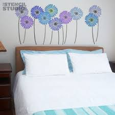 Floral Wall Stencils For Bedrooms 23 Best Sara U0027s Wall Images On Pinterest Stencils For Walls Wall