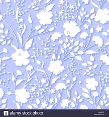 3d Invitation Cards Vector Floral 3d Seamless Pattern Background For Wedding And
