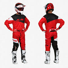 answer motocross gear a1 the standard red black