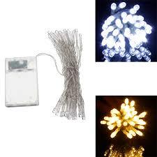 mini lights for christmas village aa battery mini 10 leds cool warm white christmas string fairy