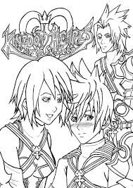 printable kingdom hearts coloring pages for kids free coloring