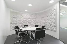 round office table and chairs office workspace exciting and fresh for profesional meeting room