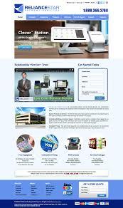 web design example a page on reliancestar com crayon