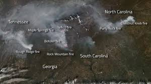 Wildfire Haze Map by North Carolina Wildfires Nc Wildfires Raging Air Quality