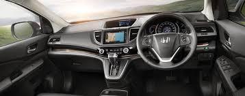Honda Crv Interior Pictures 2015 Honda Cr V Asean Interior Indian Autos Blog