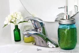 tiny bathroom makeover on a budget creative green living