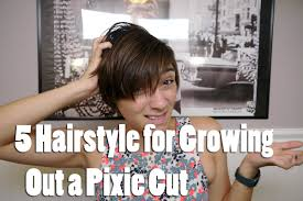 5 hairstyles for growing out a pixie youtube