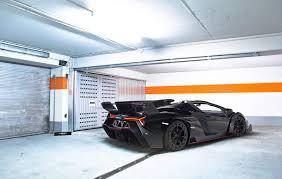 Lamborghini Veneno Lp750 4 - black lamborghini veneno lp750 4 roadster rear side angle