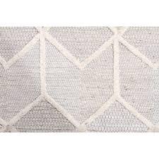 Hand Loomed Rug Marietta Geometric Textured Hand Loomed Rug