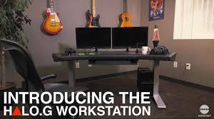 Argosy Console Desk Argosy Console U0027s All New Halo G U0026 Halo G Sit Stand Workstation
