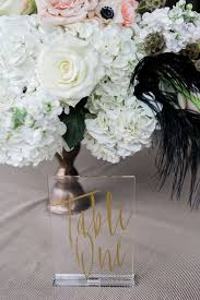 acrylic table numbers wedding industrial glam wedding inspiration acrylic table table numbers