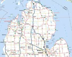 A Map Of Michigan by Michigan Roadside Parks And Scenic Turnouts Northern Lower Michigan