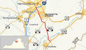 Virginia Map Virginia State Map Virginia State Road Map virginia state route 253 wikipedia