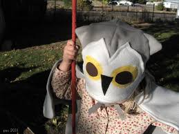 Snowy Owl Halloween Costume by Pickup Some Creativity Hedwig Costume