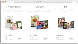how to create custom greeting cards in photos for mac macworld
