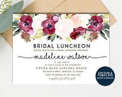 bridal luncheon bridal luncheon etsy