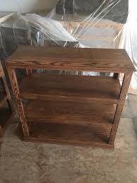 Oak Bookshelves by Oak Bookshelves Mccollum Custom Cabinets