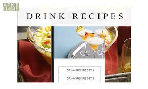 recipe apk drink recipes for android free at apk here store