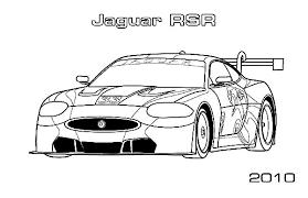 jaguar racing cars colouring colouring tube