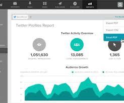 template social media informer