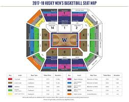 American Airlines Arena Floor Plan by Uw Mbb Tickets Washington